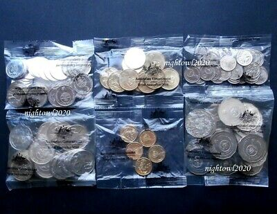 2016 Changeover 50 Years Of Decimal Currency $2 $1 50c 20c 10c 5c  RAM Mint Bags