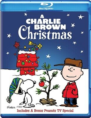A CHARLIE BROWN CHRISTMAS New Sealed Blu-ray