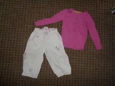 NEXT-girls BUNDLE age 4-5-6 mixed items clothes MULTI CROP TROUSERS SHORTS TOP