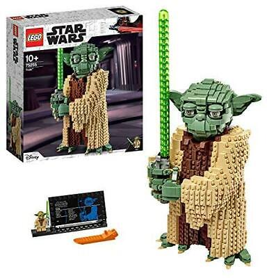 LEGO 75255 Star Wars Yoda Construction Set, Collectable Model with Display