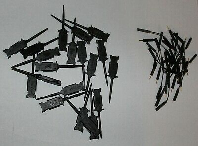 Set of 20 Mini Grabber Test Clips **NEW** with leads