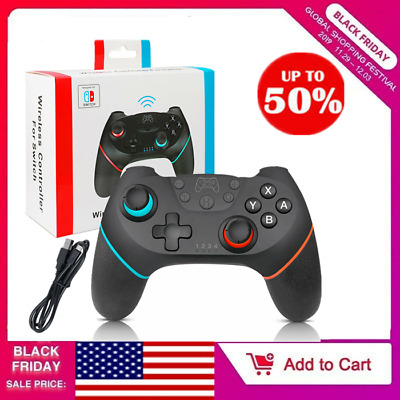 Bluetooth Wireless Gamepad Joystick Pro Controller for Nintendo Switch High Quat