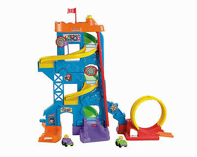 Educational Toys For Boys Little People With 2 Cars Fisher-Price Fun For Kids