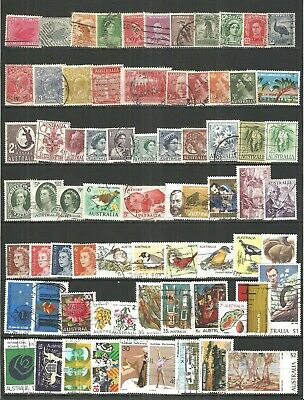 Australia from 1914 year nice Selection  old  used stamps