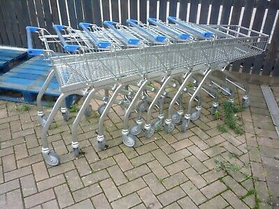 8 Supermarket shopping Trolley picking warehouse