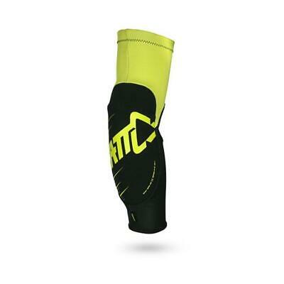 LEATT  ELBOW GUARD - 3DF 5.0 - Ellbogen Protektor - lime-schwarz Motocross Endur