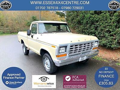 CLASSIC 1977 FORD F150 351M 5.8 v8 SHORT BED PICK UP TRUCK RARE 4X4 AUTOMATIC