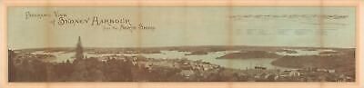 1878 Panoramic View of Sydney Harbor, Australia