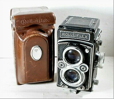 Rolleiflex Automat 6x6 120 Film TLR Camera From 1954