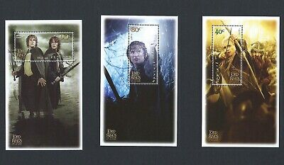 New Zealand 2003 UMM Lord of the Rings sg 2652/7  Sheetlets