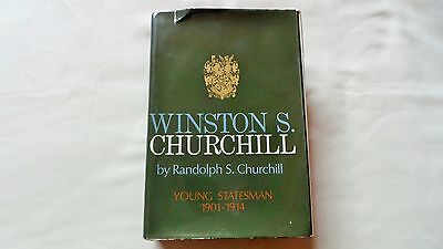 Vintage 1967 Winston Churchill By Randolph Churchill Hardback