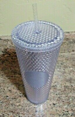 Starbucks Holiday 2019 Limited Edition 24oz Studded Tumbler Cup Platinum NWT