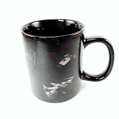 Star Wars Heat Color Changing Coffee Mug Space Battle Cup