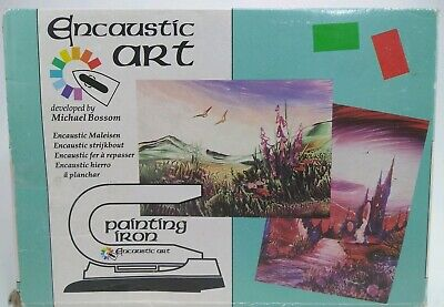 Encaustic Arts & Crafts Iron with Adjustable Temperature Dial 120v