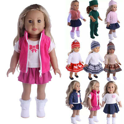 18 inch Doll Clothes Dress Outfits Pajames For American Girl Our Generation Accs