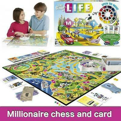 The Game of Life Board Game XMAX Party Game Family Education Creative Kids