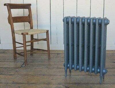 4 Column Victorian 660mm Tall Cast Iron Radiator 8 Sections - Next Day Delivery