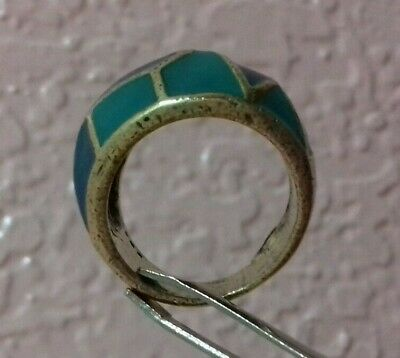 Rare Ancient  Extremely Ring Bronze Legionary Roman Old ring Authentic Artifact