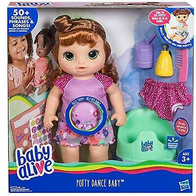Baby Alive Potty Dance Exclusive (Red Curly Hair)- New in Box