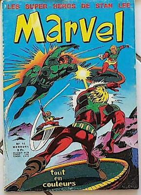 MARVEL N° 11 (LUG) grand FORMAT. 1971. voir les scans