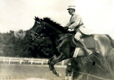 Equestrian Concours Hippique horse show Wiesbaden Germany old Photo 1919