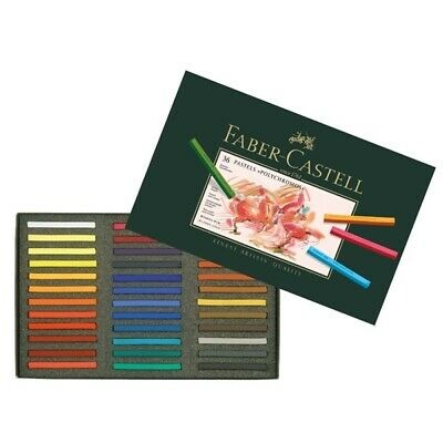 #128536 Faber Castell Box of 36 Polychromos Pastel Crayons Artists Craft Art Set