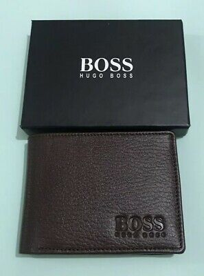 Hugo Boss Men/'s genuine leather Card Holder /'Aspen/' Wallet great gift  box bnwt