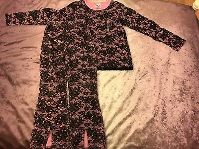 Kids Children Girls So Fun Pink top & Trousers Matching Outfit Set Age 8 Years