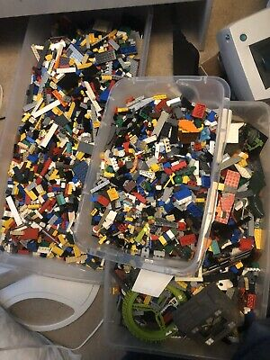 5 pounds of legos From 15 Year Collection