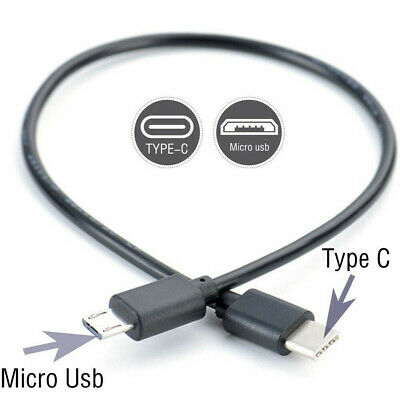 Type C (USB-C) to Micro USB Male Sync Charge OTG CHARGER Cable Cord Adapter HOT