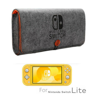 Portable Travel Bag Carrying Case Felt Storage Pouch for Nintendo Switch Lite