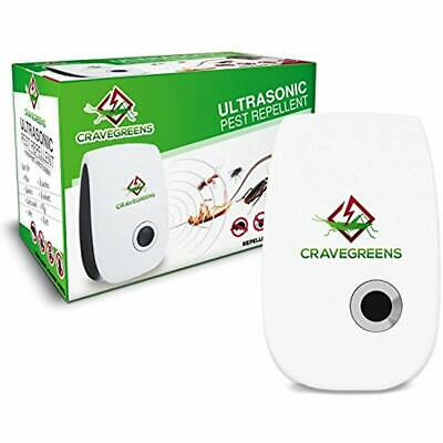 Cravegreens Dual Microchip Ultrasonic Pest Repeller Mice Control Variable Insect