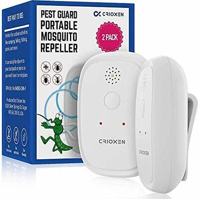 Ultrasonic Repellents Mosquito - Odorless Non-Toxic Portable Pest Control Anti ""