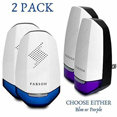 Paxson Premium Ultrasonic Pest Repeller Plug In Reject (2 Pack) - Electric To