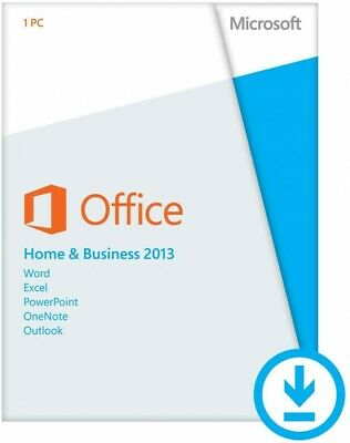 Retail Microsoft Office Home and Business 2013 - Online Activation Only for 1 PC