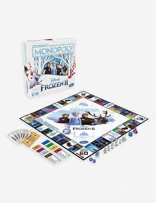 Monopoly Frozen II Board Game - Family Fun Christmas Gift Party Birthday Group