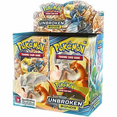 Pokemon TCG Sun and Moon Unbroken Bonds Booster Pack - Brand New & Sealed
