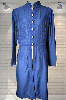 Exquisite Edwardian Victorian Style SUSAN SMALL Vintage 1970s Frock Coat - EMMA
