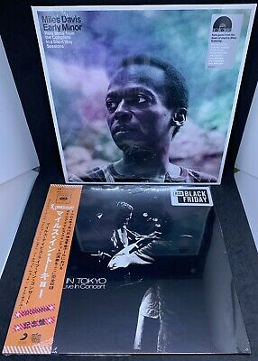 Miles Davis RSD 2019 MILES IN TOKYO + EARLY MINOR LP sealed Limited Edition