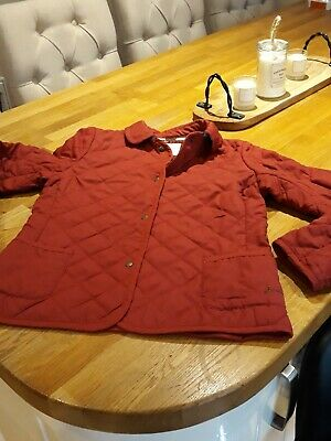 Girls joules Quilted Coat Age 11-12yrs
