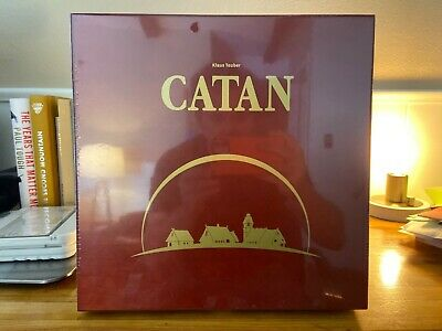 Mayfair Games 'Settlers of Catan' 15th Anniversary Wood Edition - UNOPENED