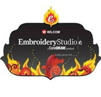 Wilcom E2 Studio With Corel Draw (Installation include) Sent to your email