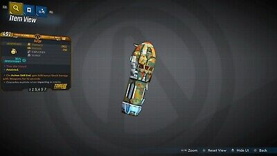 Borderlands 3 PS4 - Anointed Surge Grenade (+50% Shock DMG ASE) NEW ITEM