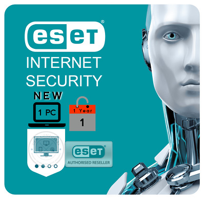 120-1300 days Eset NOD32 License key Antivirus Internet Security v9.0-13 1 PC