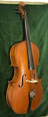Antique 3/4 Cello Antonius Stradiuarius Faciebad anno. 1736 Germany ATTIC FIND