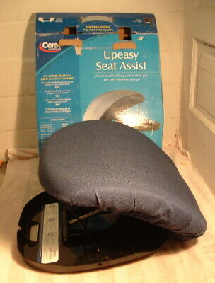 Carex UPE3 Upeasy Seat Assist Standard Manual Lifting Cushion Navy Blue