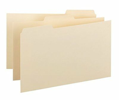 Manila 55076 Smead Card Guide 5W x 3H 25 per Set Plain 1//5-Cut Tab A-Z