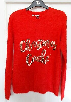 Marks Spencer Sequin Christmas Cracker Women S Sweater M S Collection Size 22 8 00 Picclick Uk