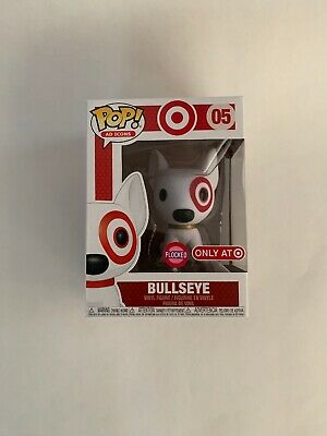 Funko POP! Ad Icons #05 Flocked Bullseye Target Exclusive 2019 SDCC W/ Protector