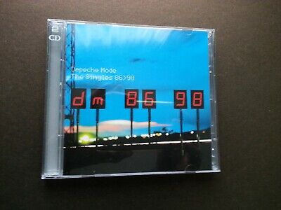 Depeche Mode - The Singles 86-98 (2 CD  - NEW - UNSEALED - BMG ISSUE)...£6.95